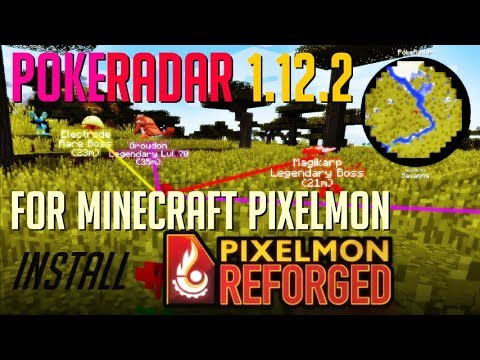 POKERADAR MOD 1 12 2 minecraft - how to download and install PokeRadar for  Pixelmon Reforged