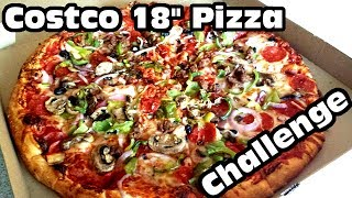Entire Costco Pizza Challenge