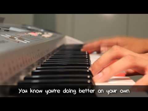 Jimmy Eat World - The Middle - Piano & Lyrics