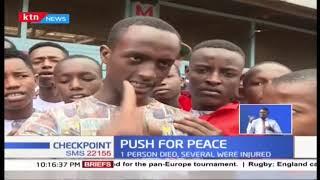 Push for peace as calm returns to Kiamaiko