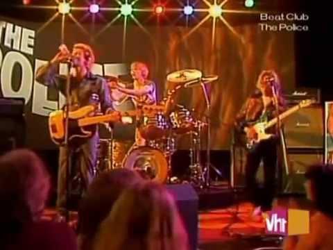 Resultado de imagen de The Police Live at Beat Club 1978