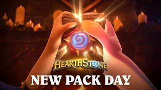 Hearthstone Animated Short: New Pack Day on June 13!