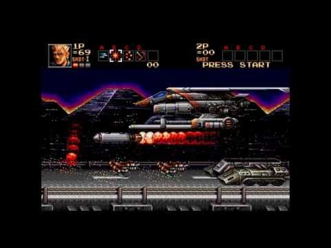 Contra: The Hard Corps for Mega Drive/Genesis - Level Select, Lives, Weapons