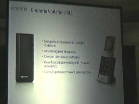 emporiaVODAFONE RL1, il telefono per over 65