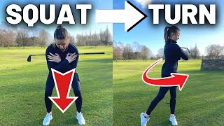 SQUAT & TURN MOVES TO STOP EARLY EXTENSION FOR INCREDIBLE POWER