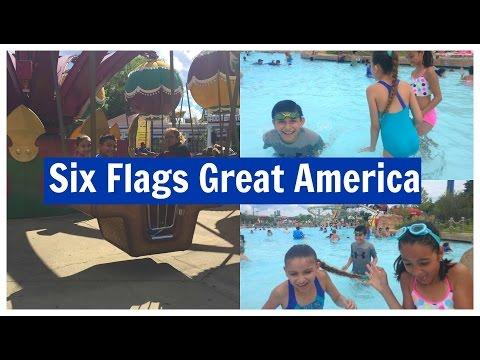 Six Flags Great America| Vlog