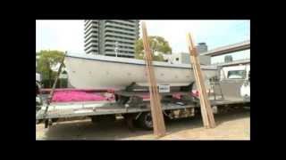 【浜寺ボート(HAMADERA BOAT)】cutter boat(6m)made in japan