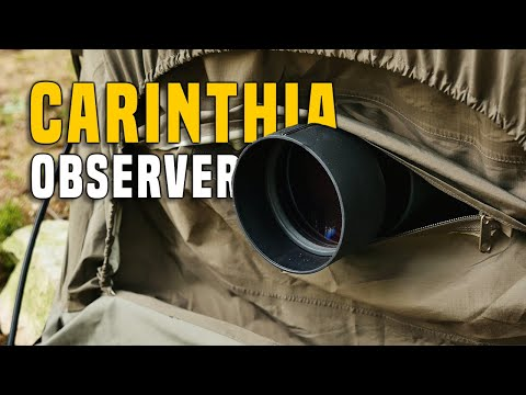 Carinthia Observer Plus Bivy Tent Gear Review IRR Test Outdoor Military GERMAN + (ENGLISH SUBTITLES)