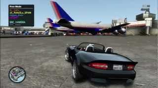 GTA 4 mad mods online ps3 multiplayer funny stuff