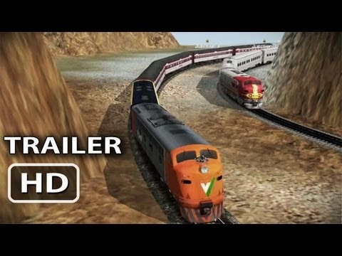 Trainz Driver MOBILE Game Trailer