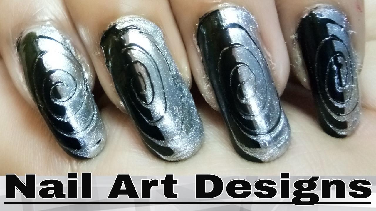 how to make nail polish designs at home - youtube