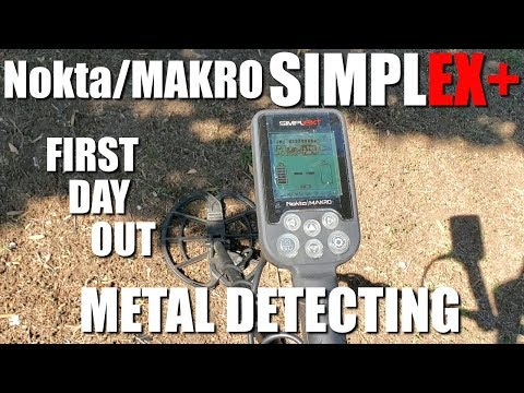 metal-detecting:-nokta-makro-simplex---first-day-out