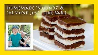 Coconut Chocolate Candy (like A Homemade Mounds Or Almond Joy Bar)