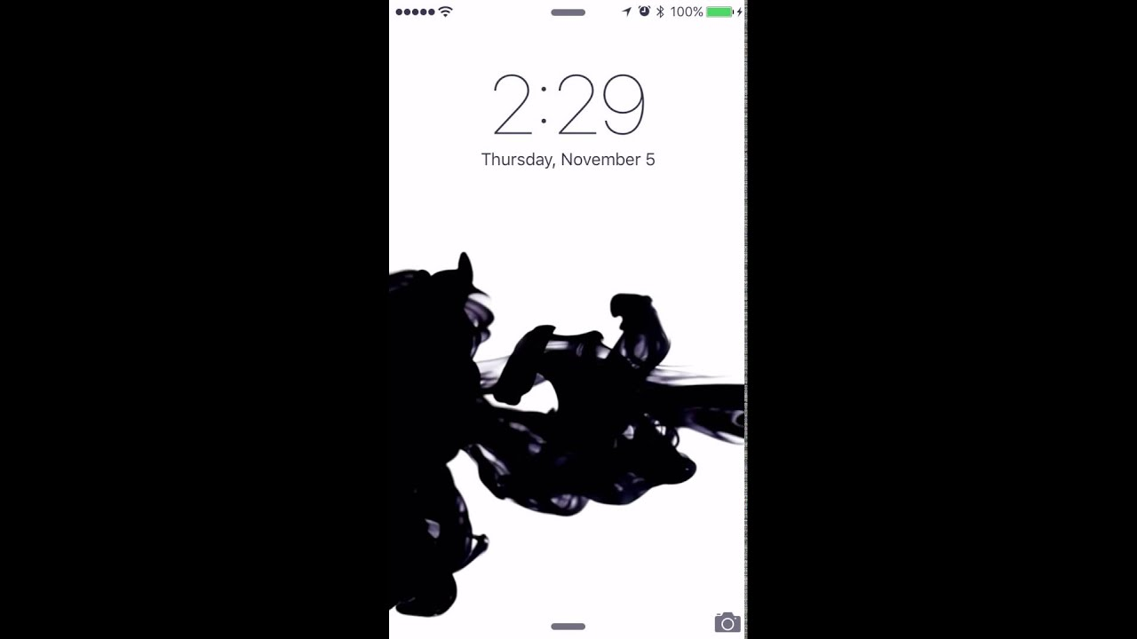 ink 3d touch live wallpaper - YouTube