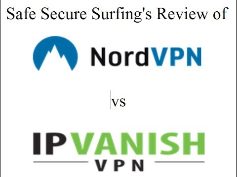 NordVPN vs IP Vanish