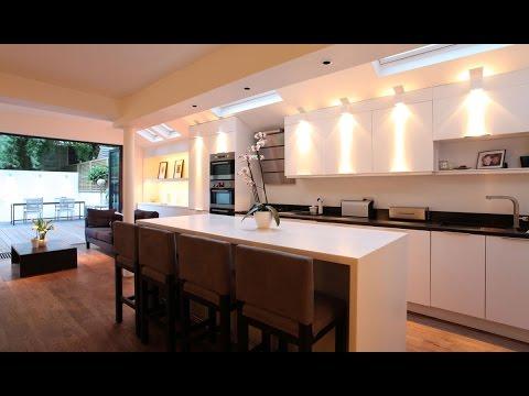 Iluminaci n haciendo cocinas de revista youtube - Iluminacion para cocina comedor ...