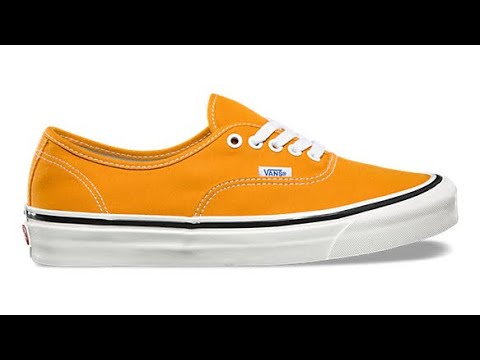 "ebb1d4d3e4ab8f Shoe Review  Vans ""Anaheim Factory"" Authentic 44 DX (OG Gold) - YouTube"