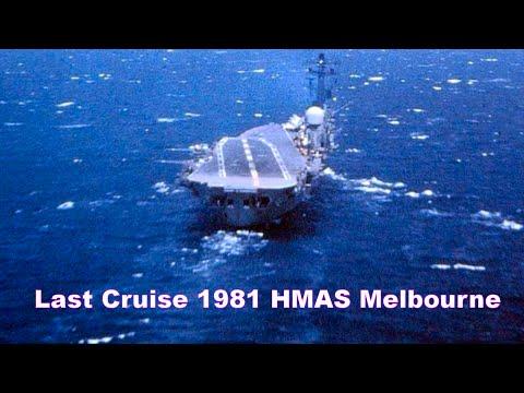 Last Cruise for HMAS Melbourne 1981 S2E/Gs & Wessii - Nil A4Gs