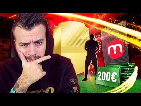 FIFA18 PACK OPENING 200€ PER LA COPPA MELAGOODO!!