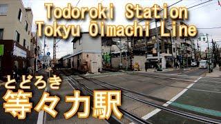 【構内踏切】東急大井町線 等々力駅を探検してみた Todoroki Station Tokyu Ōimachi Line