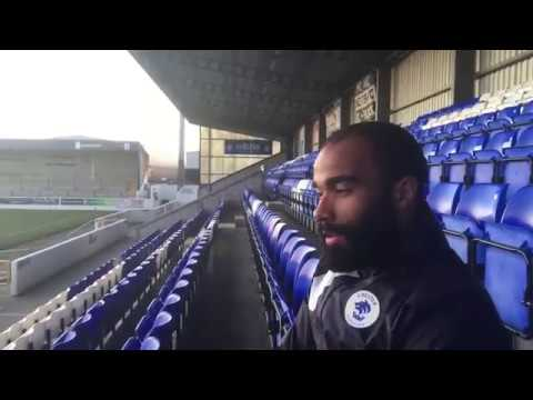 CFCTV: Dominic Vose interview post match Eastleigh