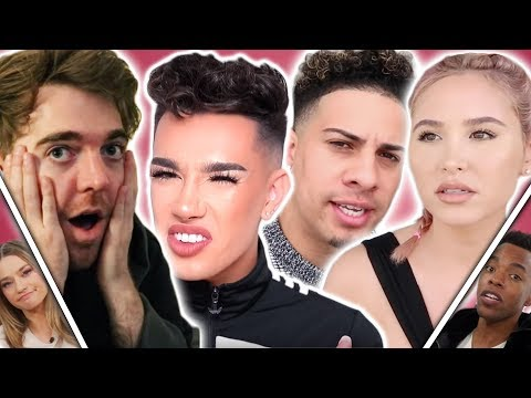 James Charles DRAGGED For Copying Shane! Austin Forcing Catherine To Defend Him? (Celeb Lowdown) thumbnail