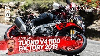 APRILIA TUONO V4 1100 FACTORY 2019 | TEST MOTORLIVE