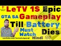 [Hindi] LeTv Le 1S EPIC Gaming Test 100% - 0% | Can it Handle?