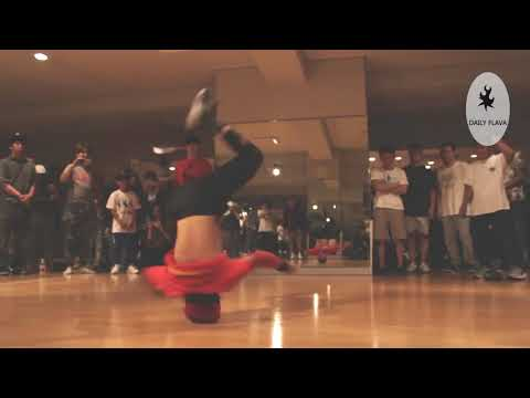Bboy Tsukki. 11-year old breaker with world class power moves.