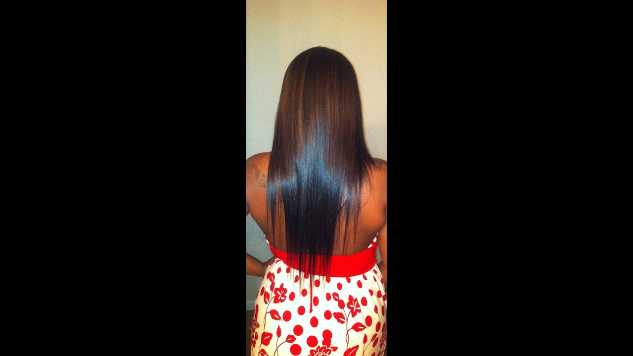 Easy Home Made Clip Ins Milky Way Hair Youtube