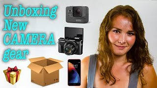 Unboxing Haul of new cameras