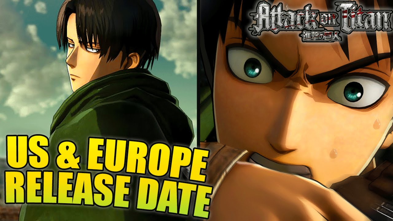Attack On Titan US & Europe Release Dates August 30th ALSO ...