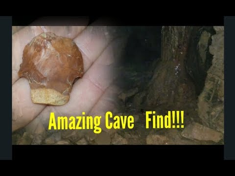 Arrowhead Hunting In A Cave 2018! Native American Cave Found!