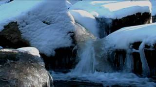 Relaxing Nature Scenes - Relaxation Meditation Sounds of Winter