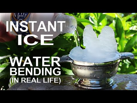 Thumbnail: Instant Ice - Waterbending In Real Life!