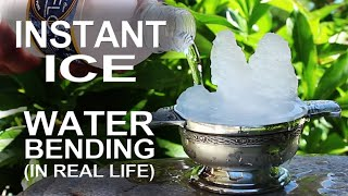 Want to make a glass of water freeze instantly on command? What is this supernatural power and who can use it? Discover the secrets to Ice-bending ... in real ...
