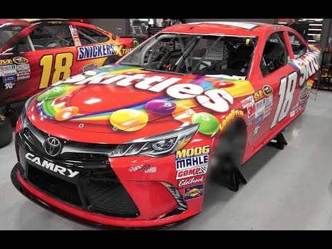 The No. 18 Skittles Toyota Revealed!