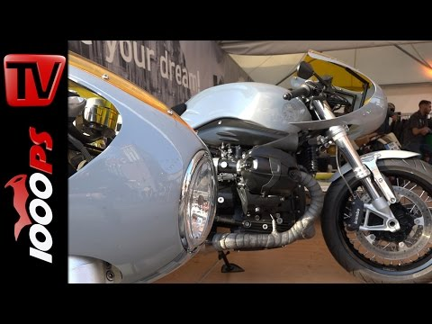 BMW R nineT & Triumph Thruxton - selber Look | Pure & Crafted 2016 Foto