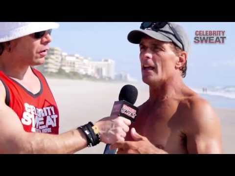 Beach Workout with Doug Flutie and Victor Ortiz