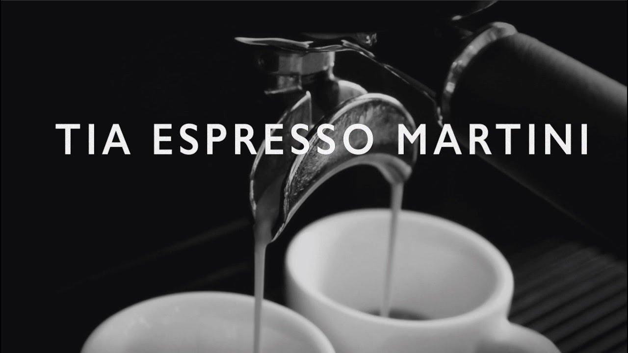 Espresso martini recipe tia maria
