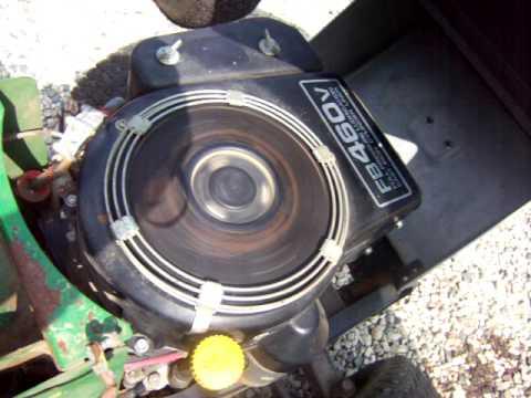 Kawasaki FB460V Engine - YouTube
