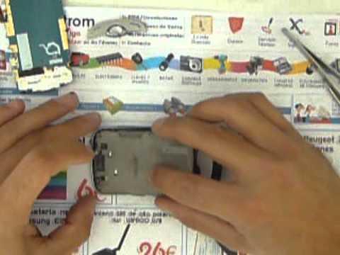 IMPEXTROM CAMBIAR TROCAR PANTALLA A SAMSUNG S3370
