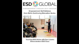 Teaching ESD Online with Dani Lizano: Demonstration ESD Class