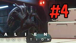 Alien: Isolation - I tinkled myself - PART 4 - DK1games