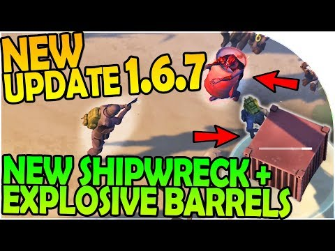 NEW UPDATE 1.6.7 - NEW SHIPWRECK UPDATE + EXPLOSIVE BARRELS- Last Day On Earth Survival 1.6.7 Update
