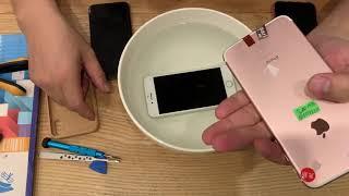 Ngâm nước iphone 15 Phút. Không một hạt sương nào vào được