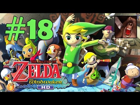 Zelda The Wind Waker HD Part 18 - Forbidden Woods - Treasure Chart Walkthrough (Wii U)