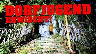 LOST PLACE: DORFJUGEND IM LOST PLACE ERWISCHT! | ABANDONED HOTEL