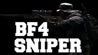 BF4 Long Range Sniping Montage - BigE (60 FPS)