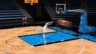 Vince Carter - Slam DUNKS Practice FreeStyle NBA 2k11 PC GamePlay